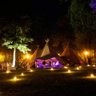 Adventure stay in wooden Teepee