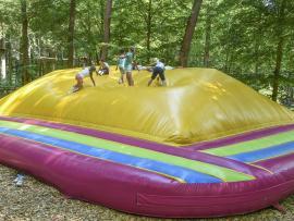 Tégonflé, un dôme gonflable qui vas epuisé vos enfants au parc Tépacap