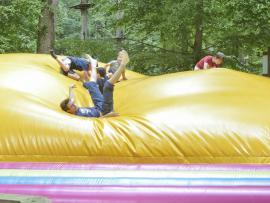 Tégonflé, un dôme gonflable qui vas épuisé vos enfants
