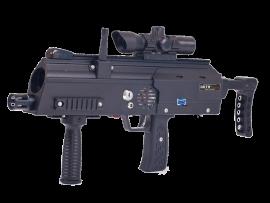 Laser GAME, vous presente leurs MP7, nouvelles armes au parc tépacap de Bitche